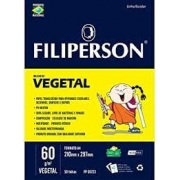 BLOCO PAPEL VEGETAL A4 60G/M2 COM50F  FILIPERSON