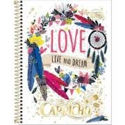 Caderno 01 Matéria Capricho CD 96 Folhas - TILIBRA