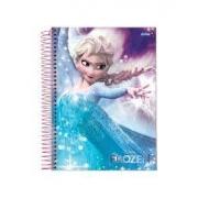 Caderno 01 Matéria Frozen CD 96 Folhas - JANDAIA