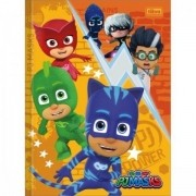 CADERNO BROCHURA CD 080F TIL PJMASKS