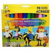 CANETA HIDROGRAFICA BIG ACRILEX C/12