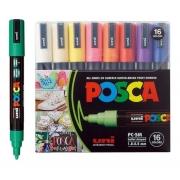 CANETA POSCA PC-5M C/16 CORES