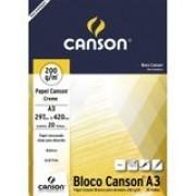 Bloco Canson Desenho 200 creme 224g/m² A3 297 x 420 mm com 20 Folhas  66667044