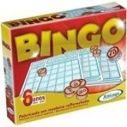 Jogo de Bingo Xalingo Pedras De Madeira 5290-2