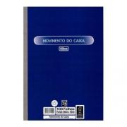 BLOCO MOVIMENTO CAIXA TILIBRA 100 FOLHAS