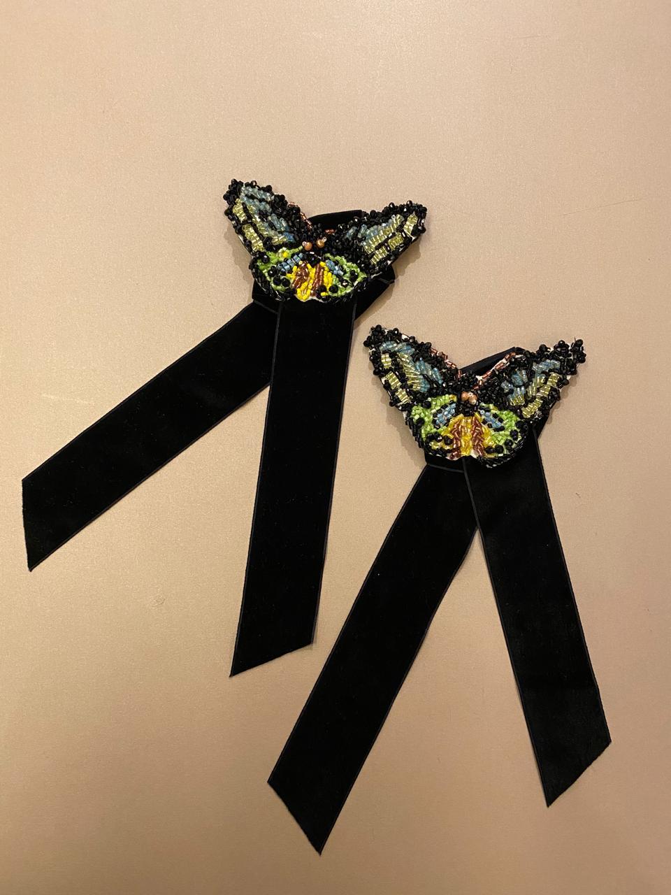 Collab Arte Sacra Casa + Ma Perle - Porta guardanapo borboleta