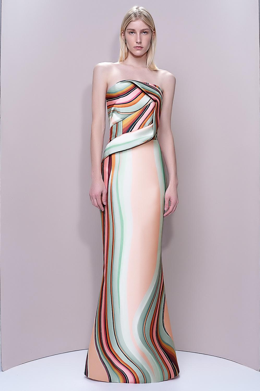 Vestido estampa zibeline