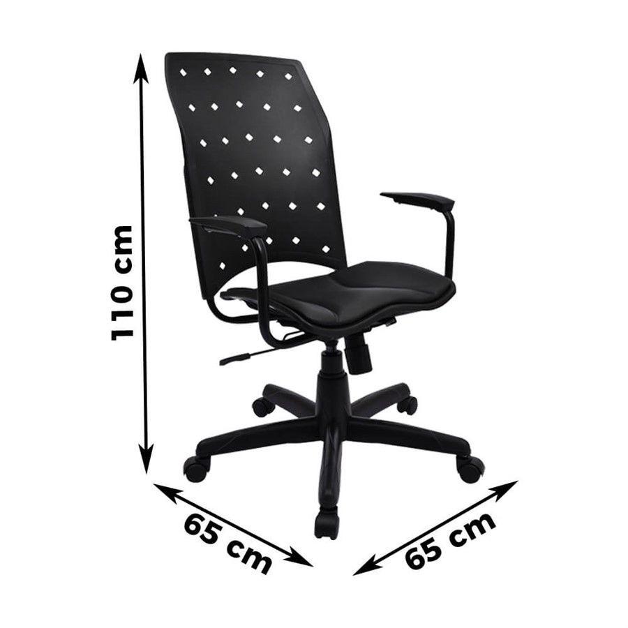 Cadeira Giratória Presidente PlaxMetal