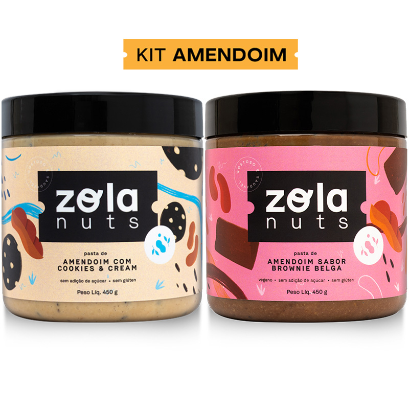 Kit Amendoim 450 g