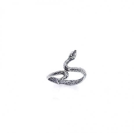 Anel de Prata Falange Cobra