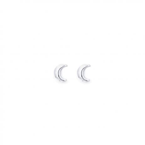 Brinco de Prata Lua Pequena