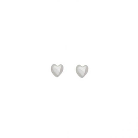 Brinco de Prata Mini Coração