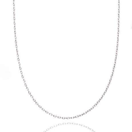 Corrente de Prata Elinhos 40 cm