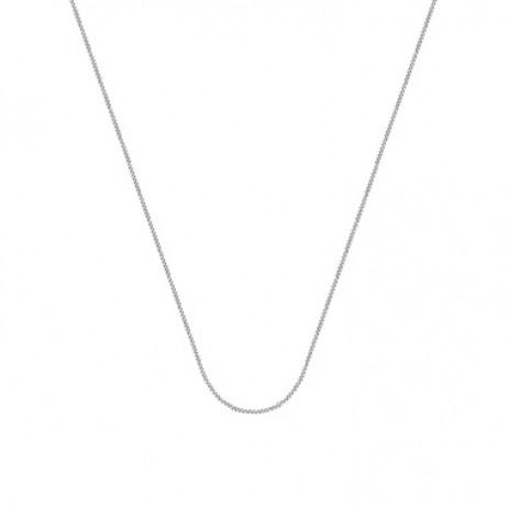Corrente de Prata Veneziana 45 cm