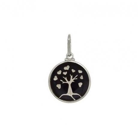 Pingente de Prata Árvore da Vida com Coração