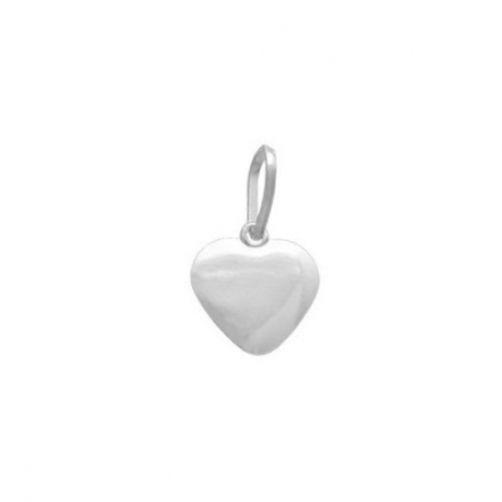 Pingente de Prata Coração