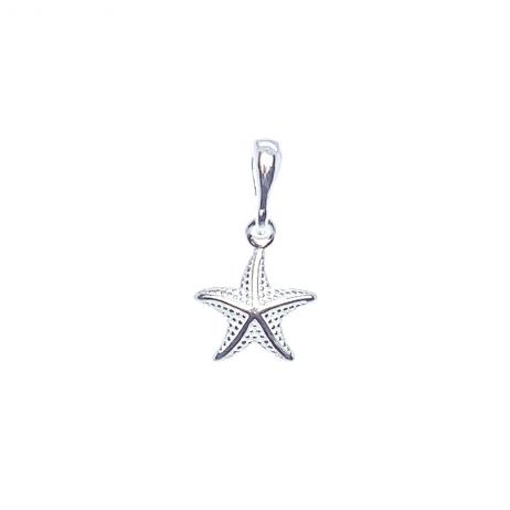 Pingente de Prata Estrela do Mar