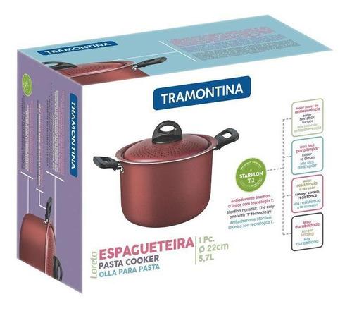 ESPAGUETEIRA 22 CM LORETO REF:27817025  TRAMONTINA