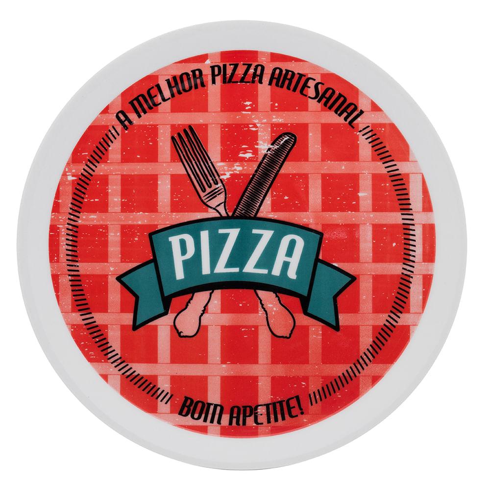 PRATO PIZZA 29CM BOM APETITE REF:8101 OXFORD
