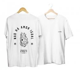 Camiseta NÃO HÁ AMOR IGUAL