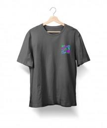 Camiseta QRCode (Cinza-Mescla)