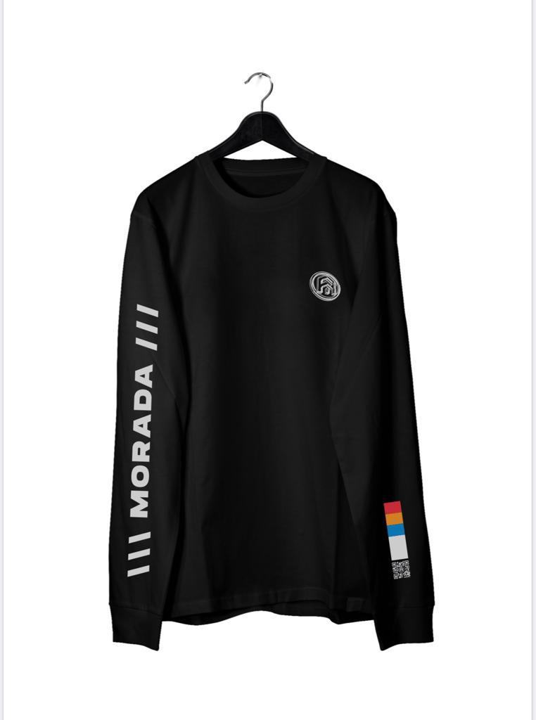 Camiseta Manga Longa MORADA