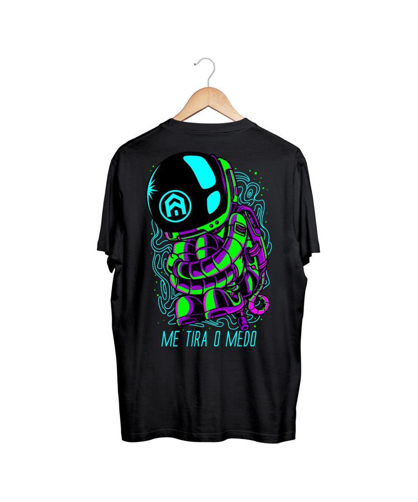 Camiseta Me Tira o Medo - Astronauta