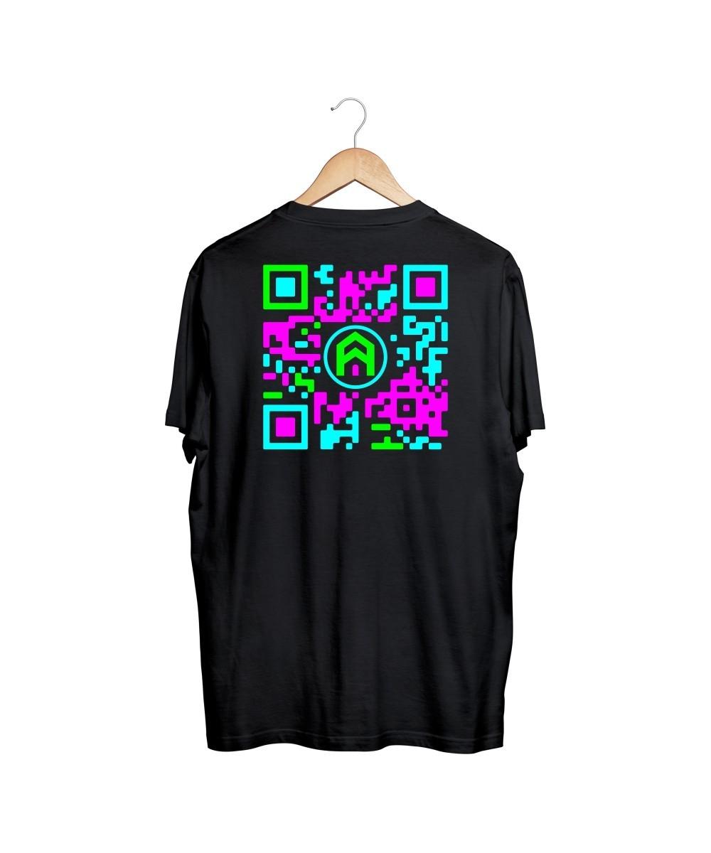 Camiseta QRCode (Preta)