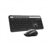 Combo Teclado e Mouse Sem Fio HP CS500 Preto