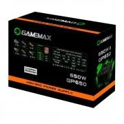 FONTE GAMEMAX GP650W