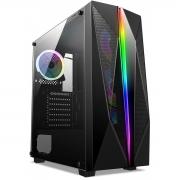 Gabinete Gamer Liketec Killer RGB - Com 1 fan