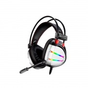 HEADSET GAMER 7.1 DIGITAL SURROUND AR70 PRETO/RGB K-MEX