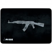 Mousepad Gamer Rise Mode AK47, Grande (420x290mm) Com Borda Costurada - RG-MP-05-AK