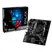 PLACA MAE GALAX B550M - AMD AM4 - M.2 - AB550MAGCHY1CW