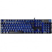 Teclado Gamer Mecanico Hp Gk400f Led Azul Switch Blue