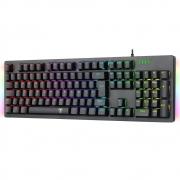 Teclado Mecânico Gamer T-Dagger Bermuda RGB Pto Abnt-2 Switch Vermelho T-TGK312-RD PT-RGB