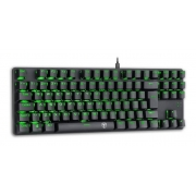 TECLADO MECANICO T-DAGGER BORA LED GREEN SWITCH AZUL