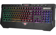 Teclado Membrana Gamer Marvo Scorpion Rainbow Pto K656
