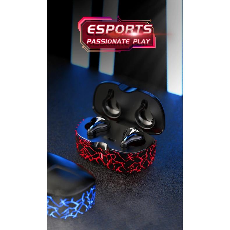 Fone de ouvido Headset gamer bluetooth 5.1  Ipx6  resistente a água com microfone   - Fatality