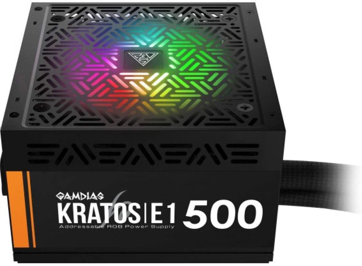 Fonte Gamdias Kratos 500W RGB  - Fatality