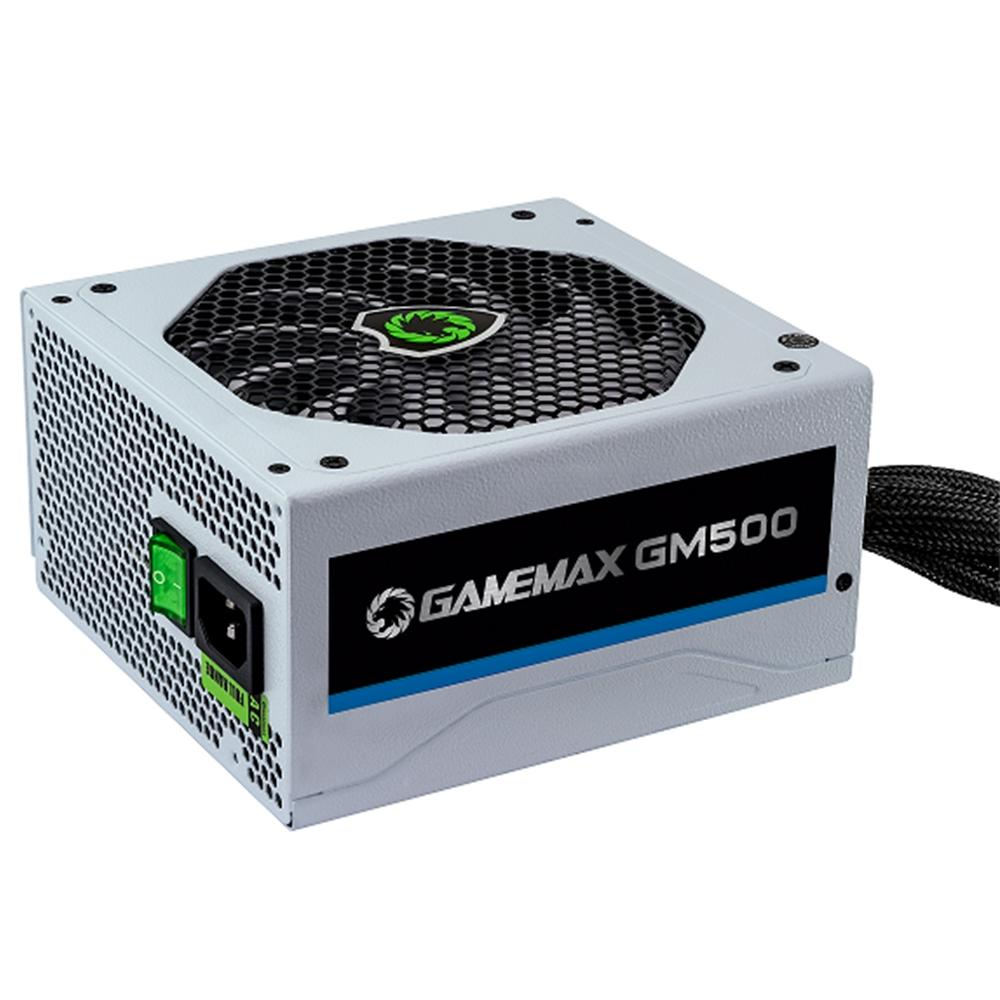 Fonte Gamemax GM500 Bca. 80 Plus Bronze - GM500 500W  - Fatality