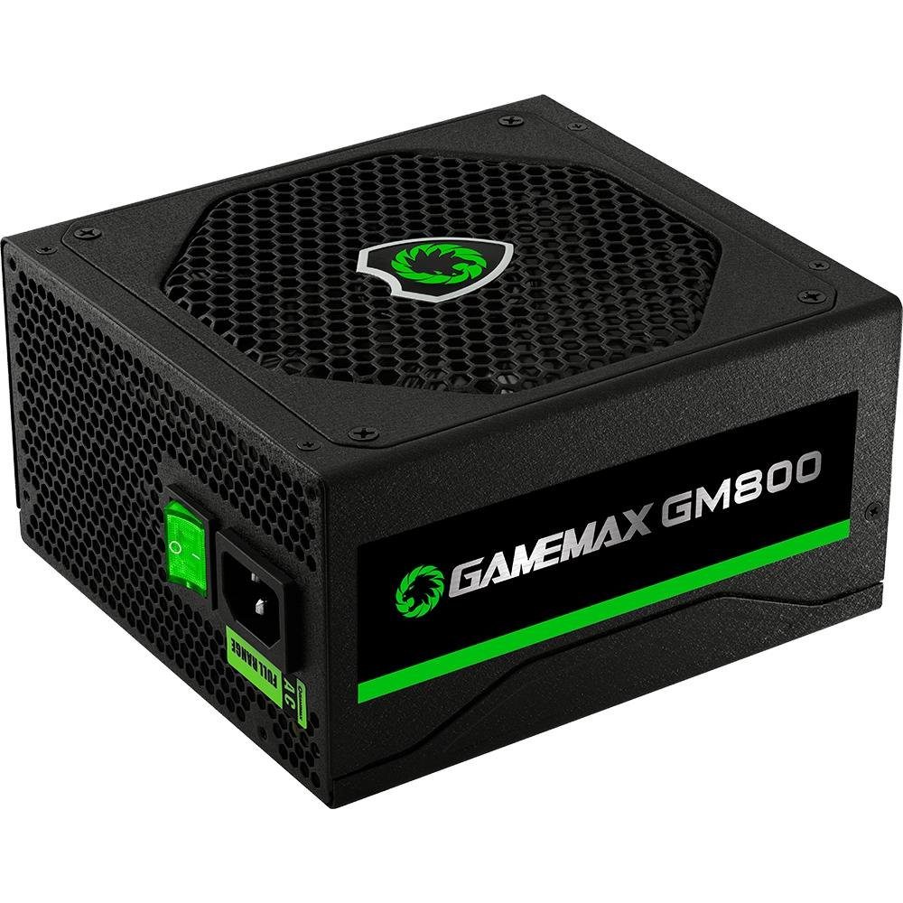 FONTE PRETA 800W GAMEMAX GM800  - Fatality