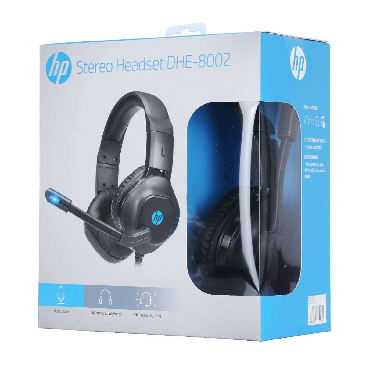 HEADSET GAMER HP COM LED DHE-8002  - Fatality