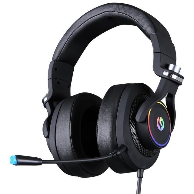 HEADSET GAMER USB H500GS 7.1 PRETO HP GAMER  - Fatality