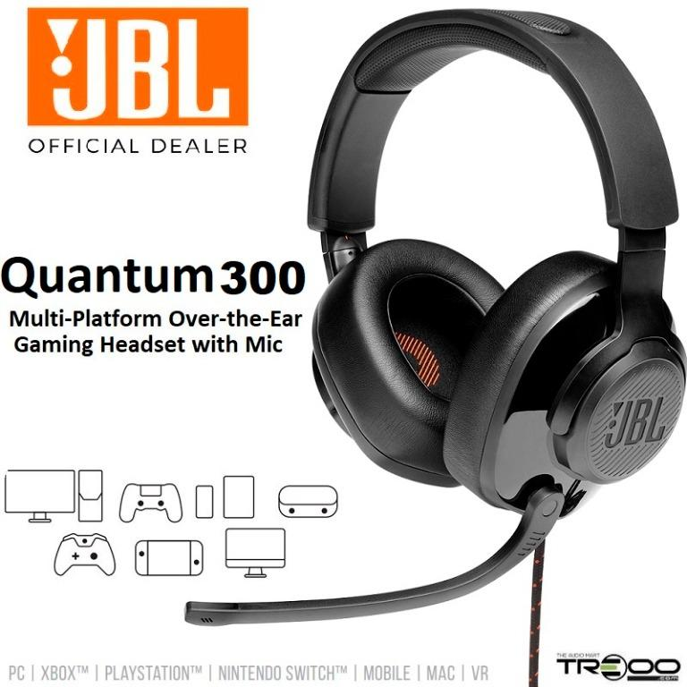 HEADSET JBL QUANTUM 300 GAMER  - Fatality