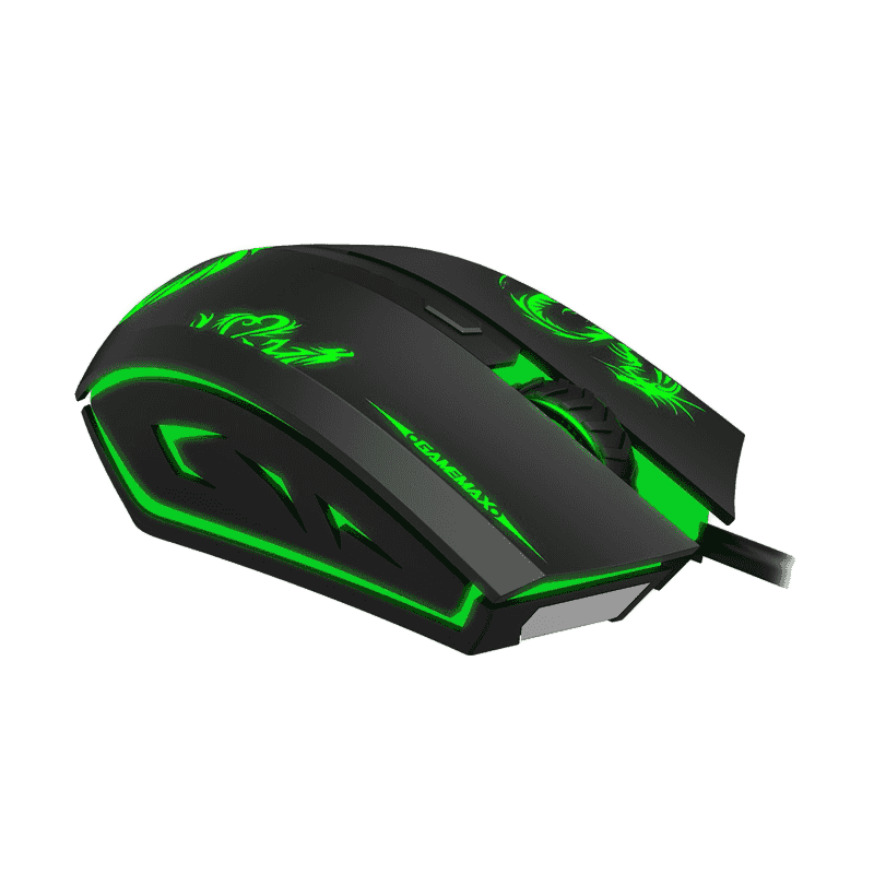 MOUSE GAMER GAMEMAX MG386 PRETO  - Fatality