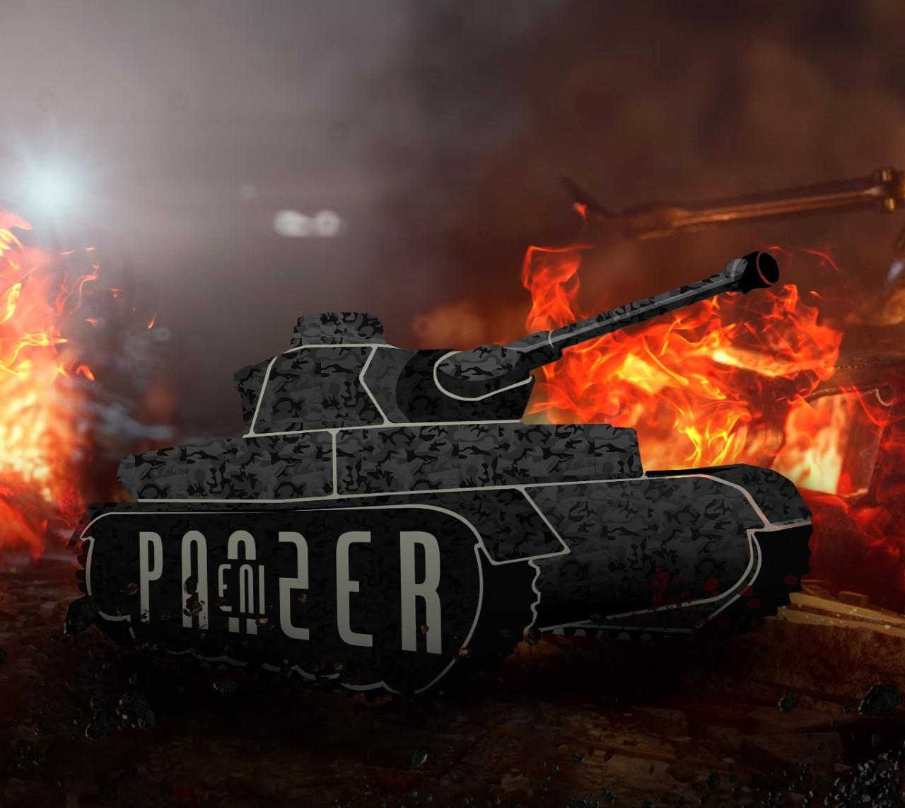 Mouse Pad Enipanzer Warpad88 Tank - Grande - 40 X 45 X 0,3cm  - Fatality