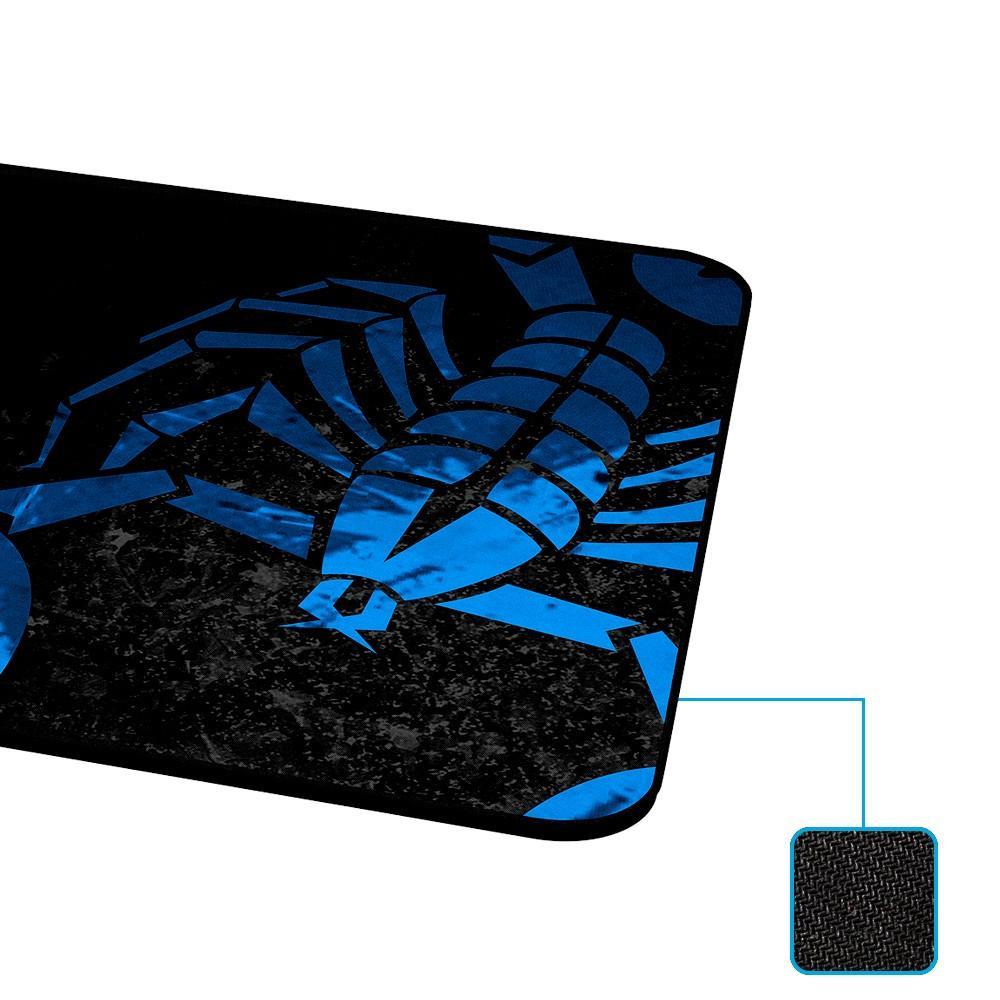 Mousepad Rise Gaming Scorpion, 42x29 Borda Costurada  - Fatality
