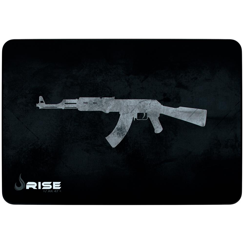 Mousepad Gamer Rise Mode AK47 Grande (420x290mm) Com Borda Costurada - RG-MP-05-AK  - Fatality