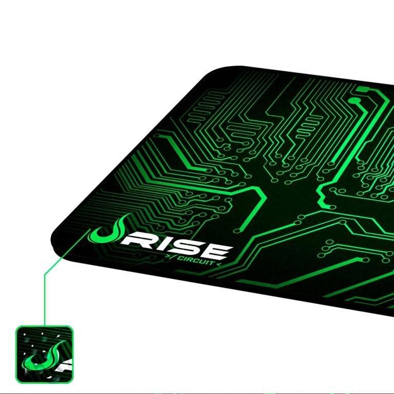 Mousepad Gamer Rise Mode Circuit Grande (42x29cm) Com Borda Costurada - RG-MP-05-CRT  - Fatality